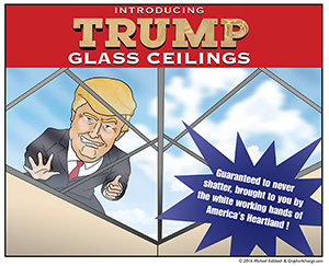 Trump Glass Ceiling